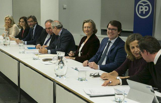 Comisión organizadora del XVIII Congreso Nacional del PP