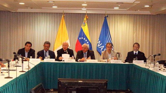 Reunión entre Gobierno de Venezuela y oposición
