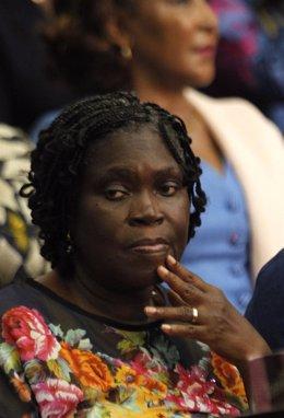 La ex primera dama de Costa de Marfil Simone Gbagbo