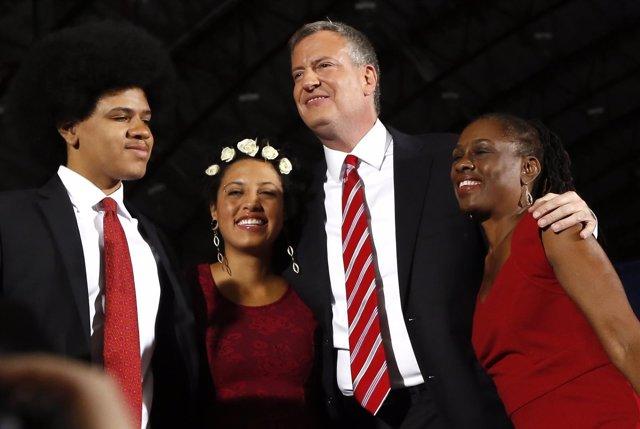 Bill de Blasio elegido alcalde de Nueva York