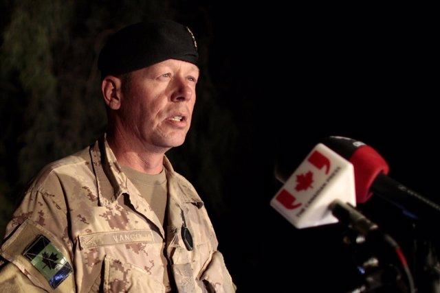 Jefe del Ejército de Canadá, Jonathan Vance.