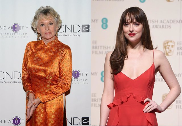 Tippi Hedren, Dakota Johnson