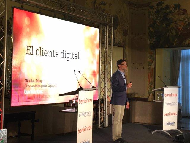El director de Negocios Digitales de Bankinter, Nicolás Moya