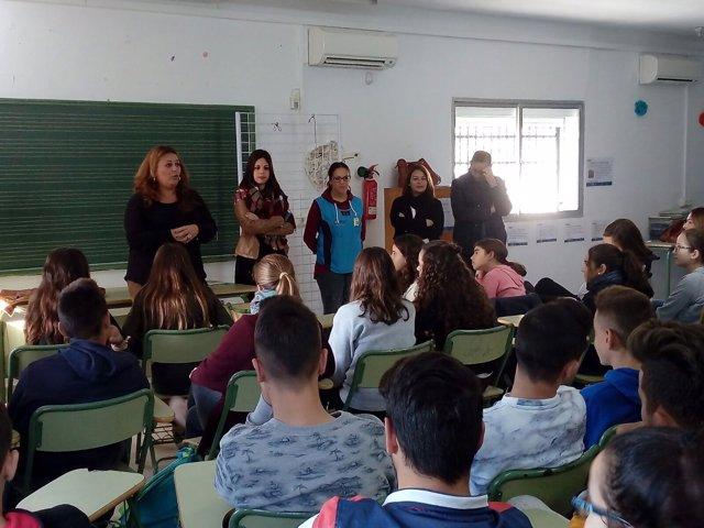 Diputación lleva la participación ciudadana a las aulas