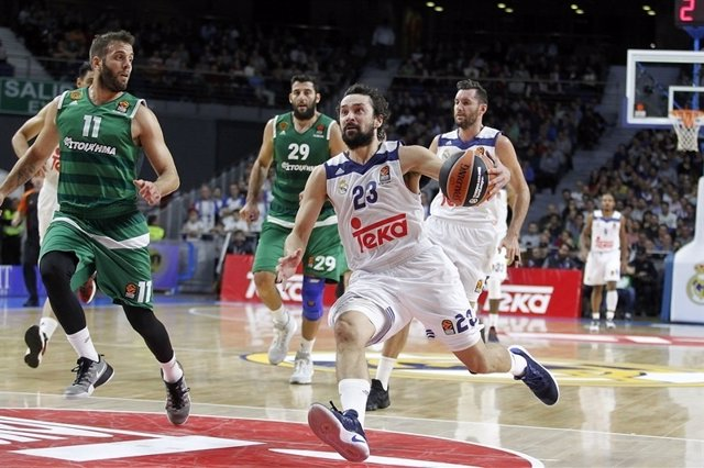 Llull en el Real Madrid - Panathinaikos