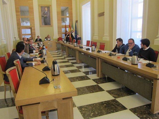 PSOE y Cáceres Tú han abandonado el Pleno del Plan de Empleo Social