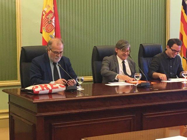 El director general de IB3, Andreu Manresa