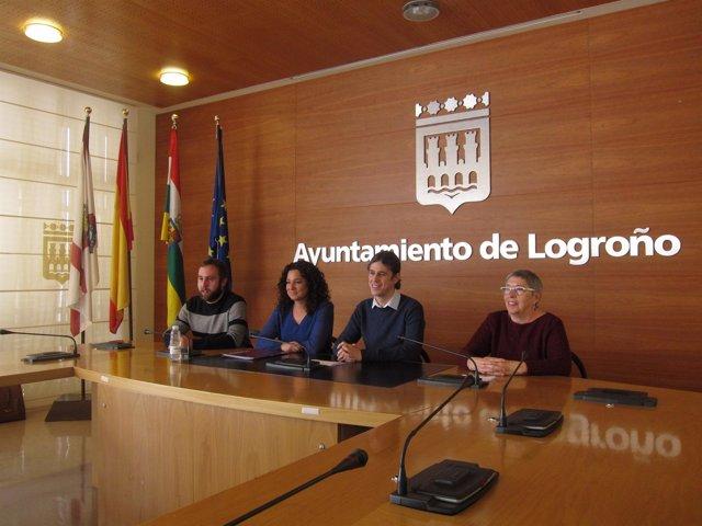 De izquierda a derecha, Mendiola, Sáinz, Peña y Sierra