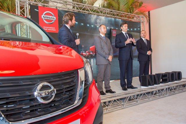 Presentación de la estrategia de Nissan en el Canal Empresas