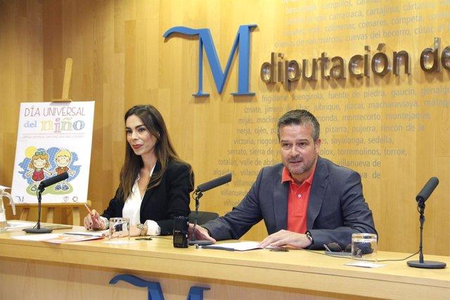 Teresa Pardo Ciudadanos diputación y Víctor González diputación cultura