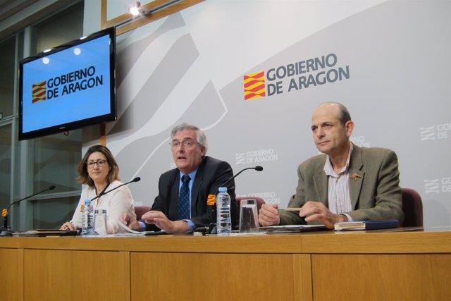 Sandra Ortega, Joaquín Olona y Eduardo Calleja han presentado el plan.