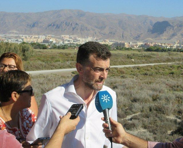 El coordinador de IULV-CA, Antonio Maíllo