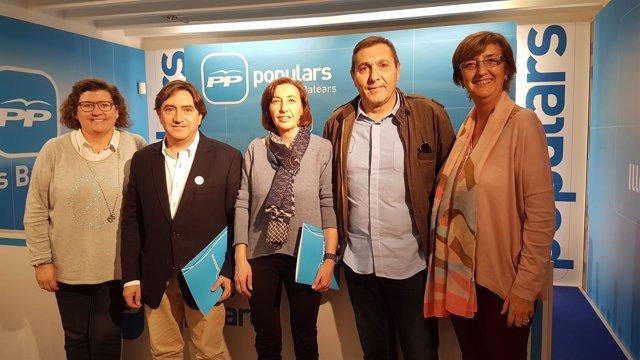 Grupo de consellers del PP en el Consell de Mallorca