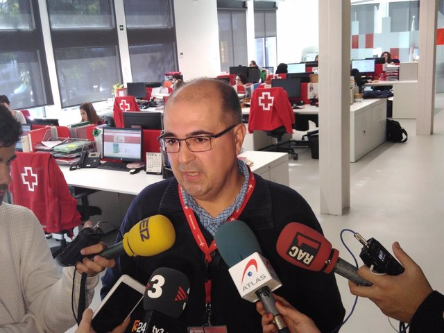 El responsable de programas de inmigrantes de Creu Roja, Oscar Barbero