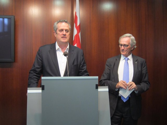 Joaquim Forn y  Xavier Trias