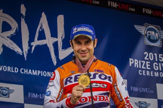 Toni Bou, campeón del mundo de trial