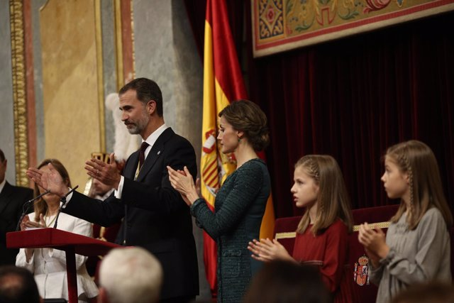 Discurso del Rey en la apertura de la legislatura en el Congreso