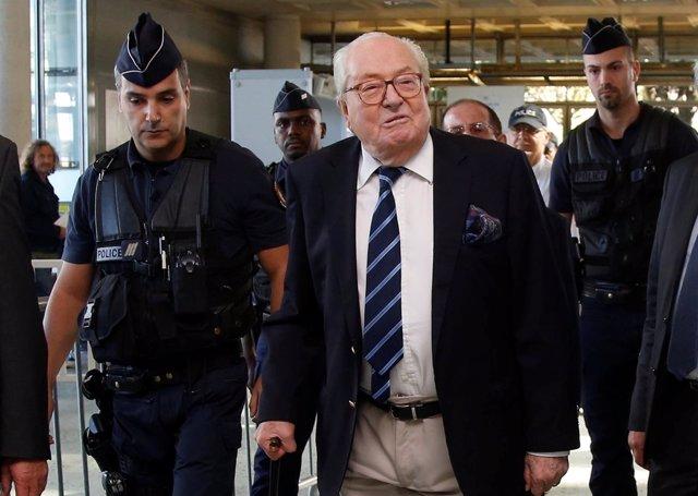 El fundador del Frente Nacional francés, Jean-Marie Le Pen