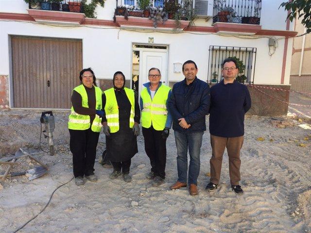 El municipio de Suflí se beneficia de la inversión del PFEA.