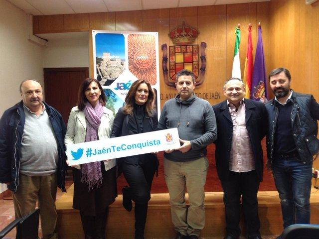 Presentación de la presencia de Jaén en Intur 2016.