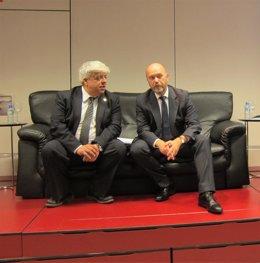 Rusca, y el director general de Relaciones con la Administración de Justicia del