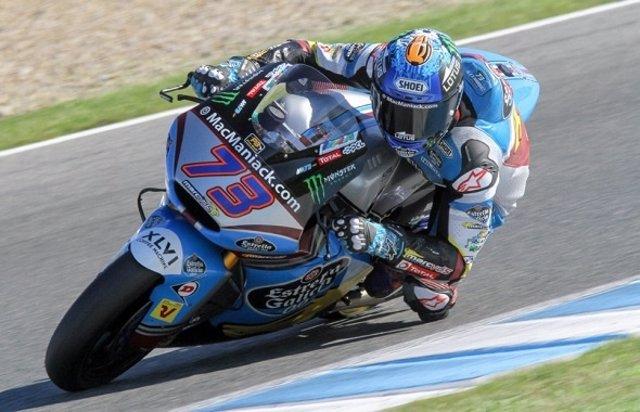 Álex Márquez termina la temporada con un test muy positivo en Jerez