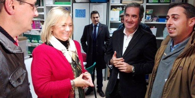 Mercedes Fernández, en Corvera