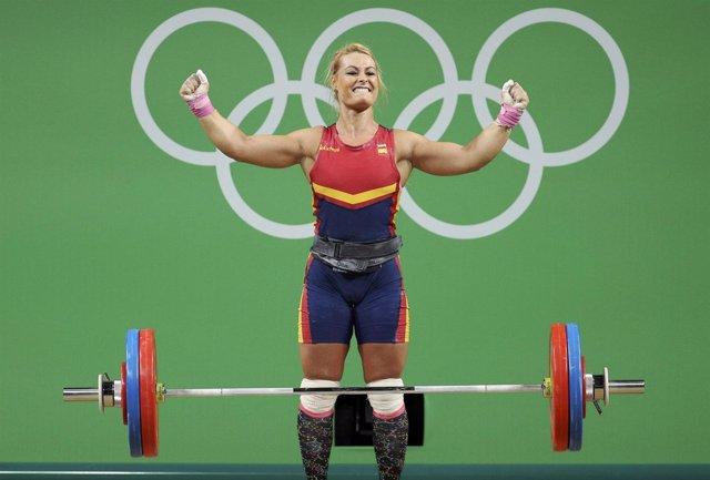 Lidia Valentín en los Juegos Olímpicos de Río