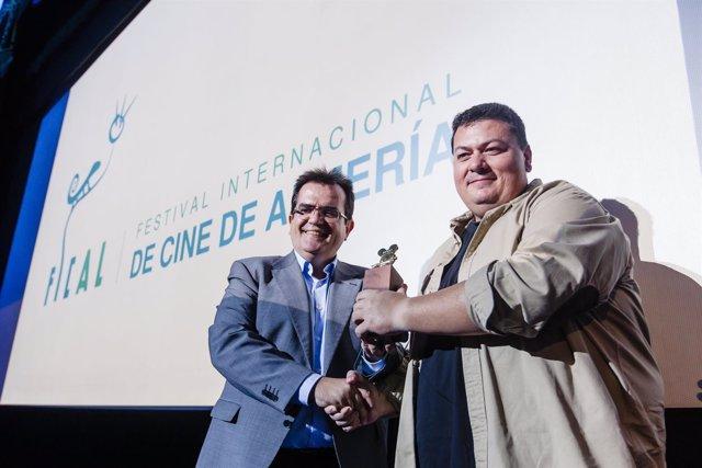 Kiko Medina, premio Asfaan en Fical 2016.