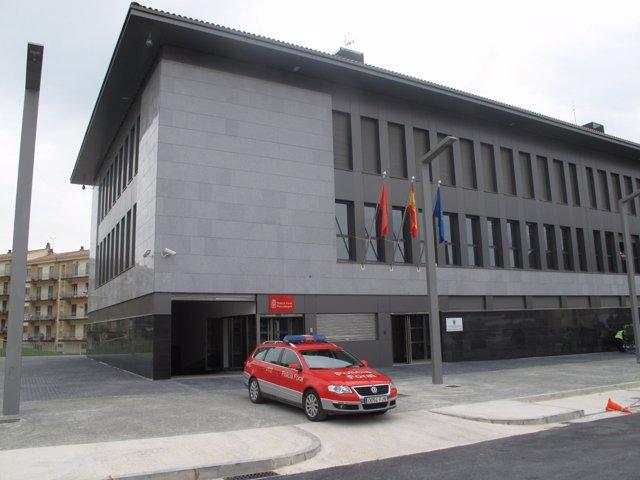 Edificio De La Comisaría De La Policía Foral De Estella