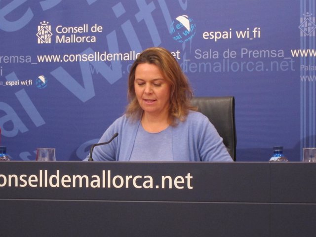 Maria Salom, presidenta del Consell de Mallorca
