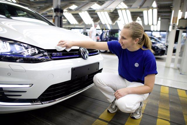 Planta de Volkswagen en Wolfsburg (Alemania)