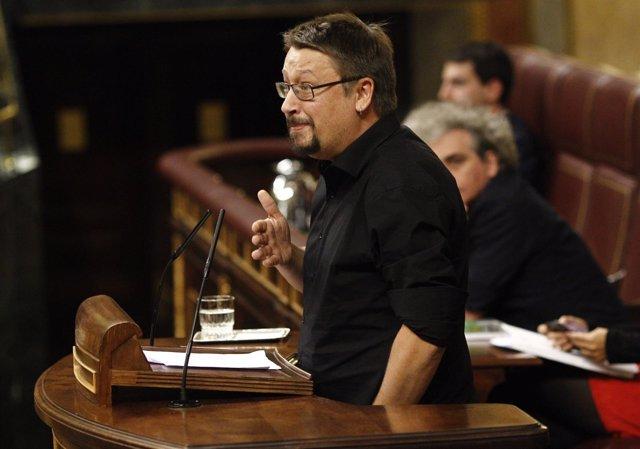 Xavier Domenech en el debate de investidura