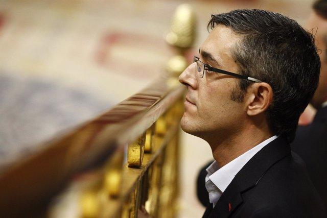 Eduardo Madina en el discurso de investidura
