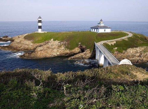 Faro de la Isla Pancha (Lugo)