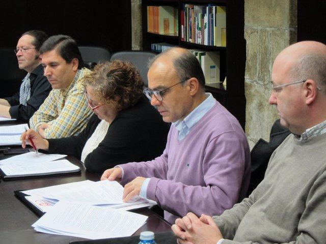 Los representantes sindicales dan a conocer el convenio de orquestas