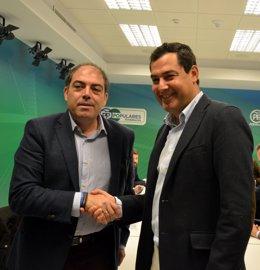 Nota De Prensa, Audio Y Fotos. Juanma Moreno Con ATA