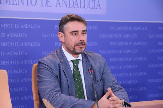 El diputado de Podemos Andalucía Juan Moreno Yagüe