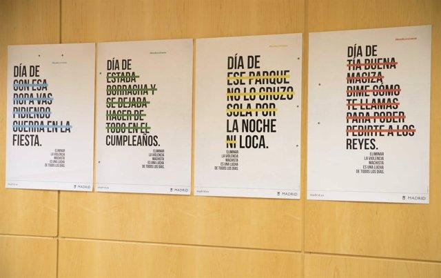 Imagen de los carteles de campaña