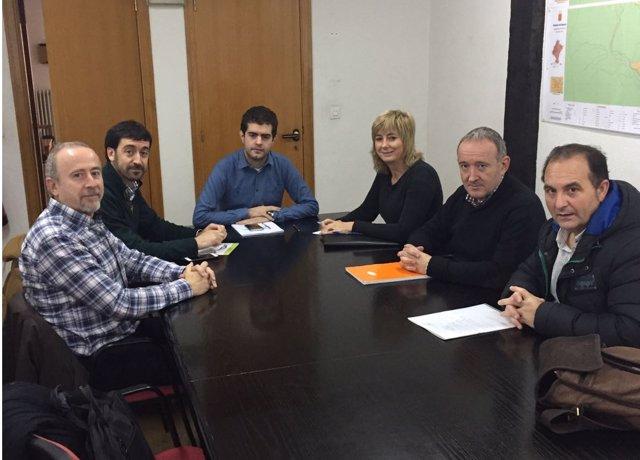 Reunión entre el Gobierno foral y el Ayuntamiento de Alsasua
