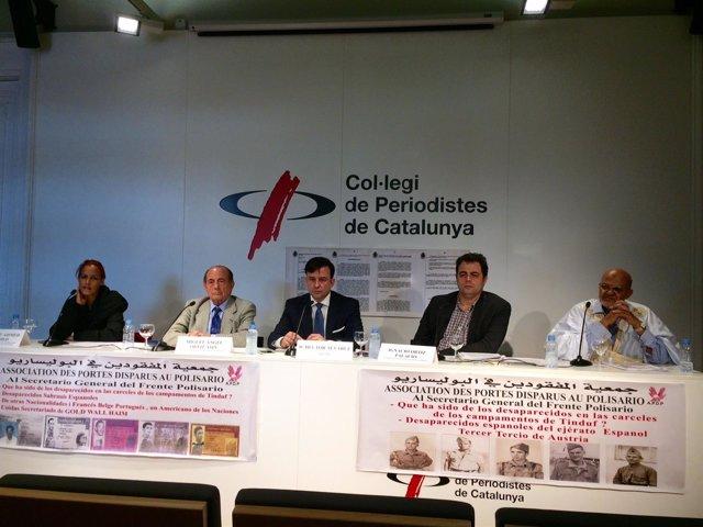 Miguel Ángel Ortiz e Ignacio Ortiz (pte.Y vicepte.De Fórum Canario Saharaui)