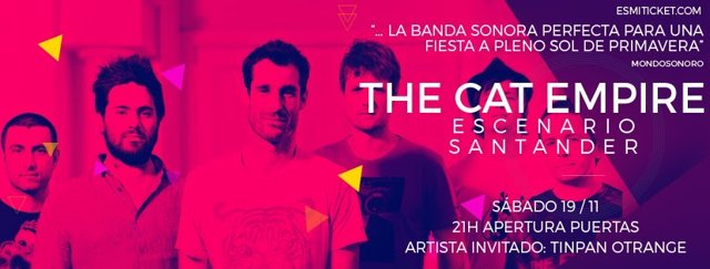 The cat empire en Escenario Santander