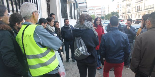 Cristina Honorato celebra la paralización del desahucio
