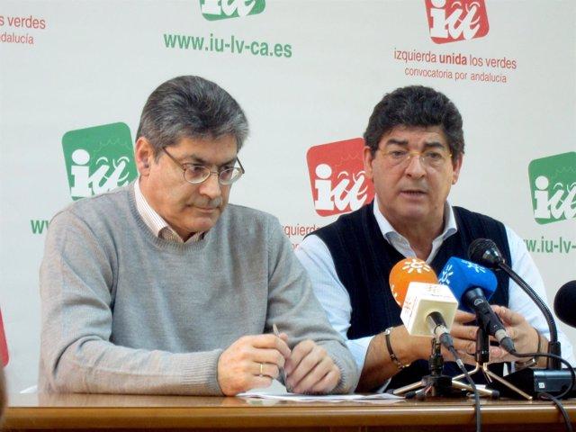 Diego Valderas Y José Luis Pérez Tapias, Hoy En Rueda De Prensa