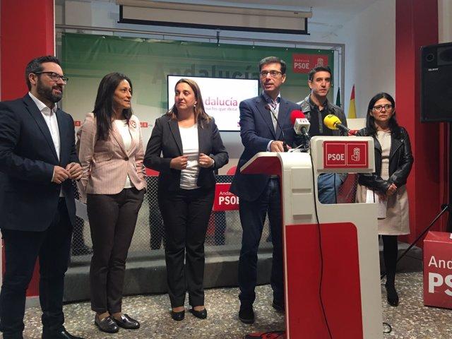Cristóbal fernandez psoe diputación alcaldes Archidona, Ardales, Rosario Cañete