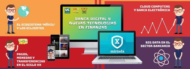 Curso en abierto sobre banca digital y nuevas tecnologías en las finanzas