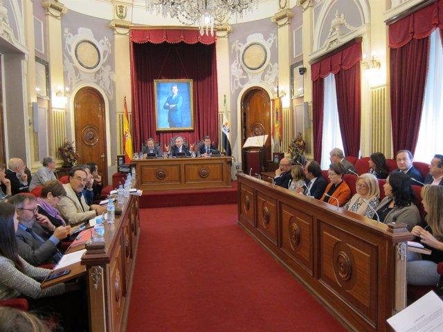 Pleno del Ayuntamiento de Badajoz