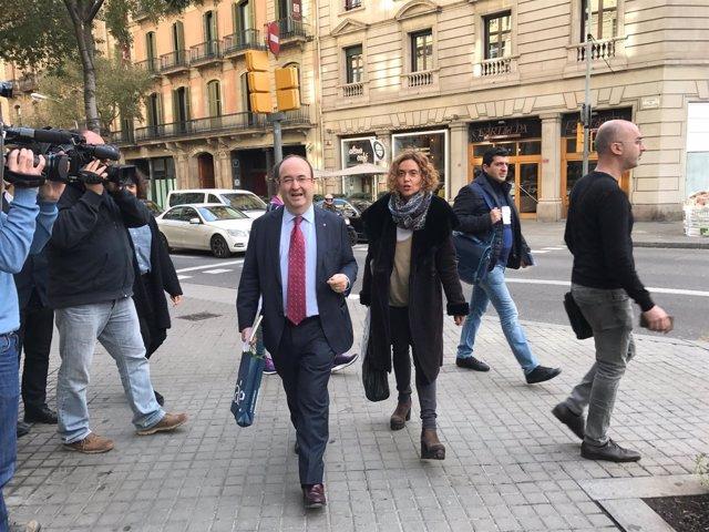 Miquel Iceta y Meritxell Batet, PSC