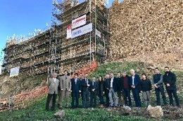 El conseller de Cultura, Santi Vila, visita el Castell de Montsoriu