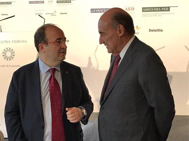 Miquel Iceta (PSC) Miquel Roca